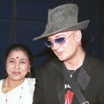 Asha Bhosle and Boy George