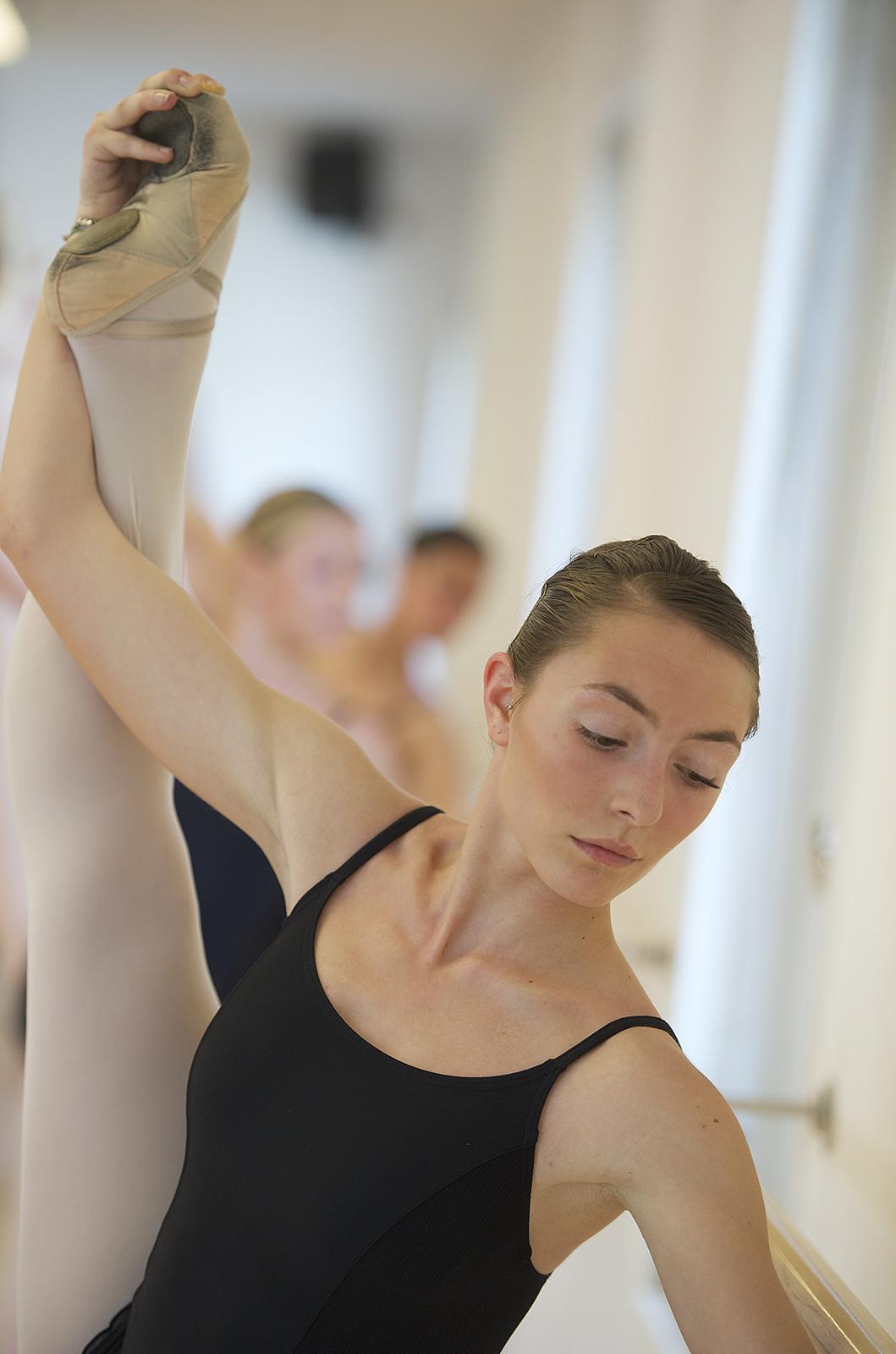 Ballet class in Italy