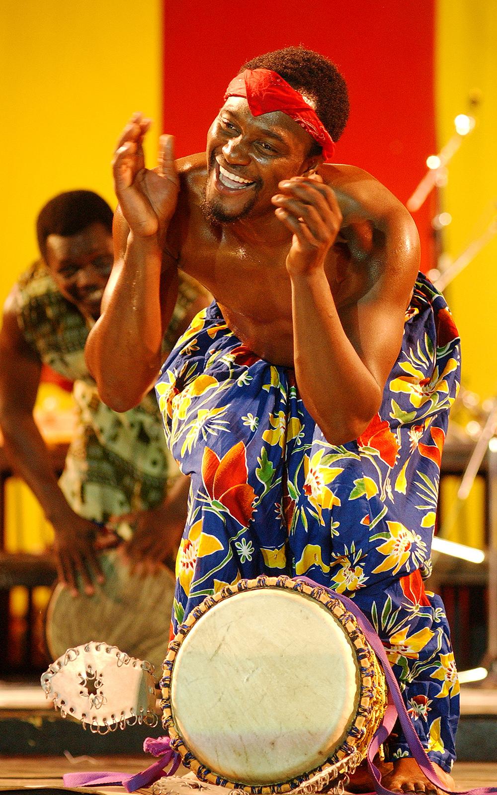 Nii Tagoe of Frititi Dance Group