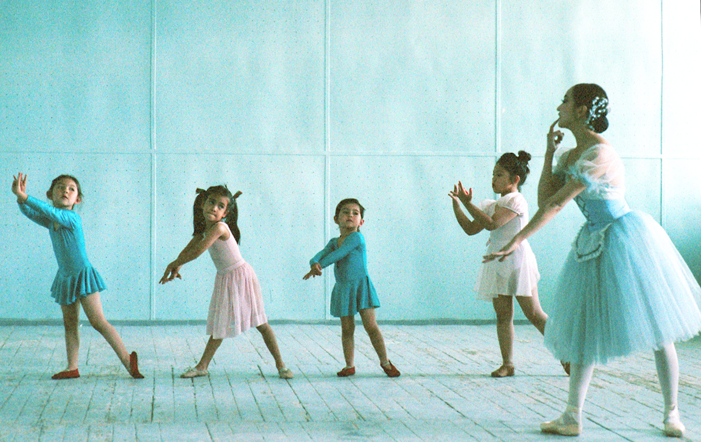 Ballet class in Outer Mongolia