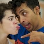 Eva Recacha and Hari Krishnan