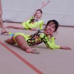 Rhythmic gymnast in Capriolo