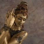 Veena Basavarajaiah. Henna and body art Riffat Bahar