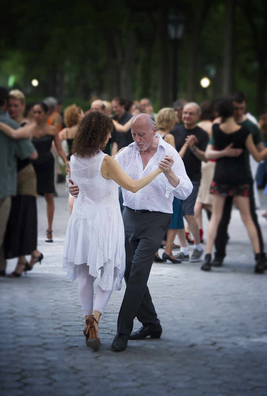 Milonga in Central Park, NYC
